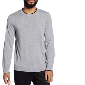 NWT theory wool crewneck sweater